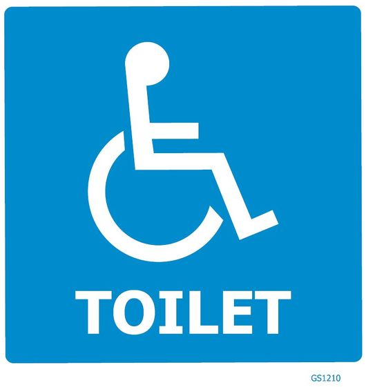 DISABLED TOILET GS1210