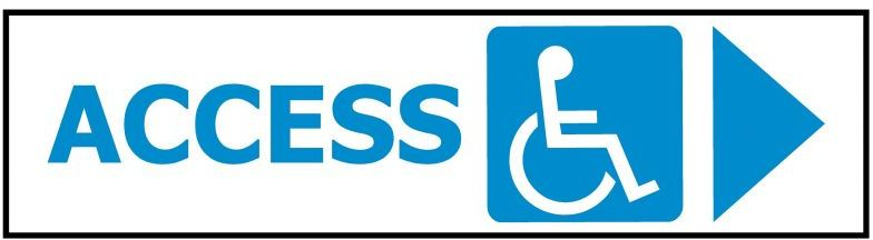 Access Disabled Arrow RIGHT