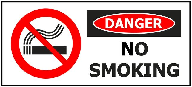 330x145 DANGER No Smoking