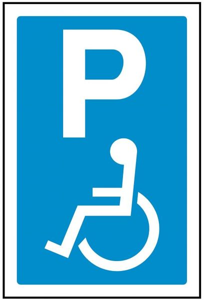P DISABLED PARKING