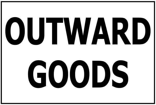 OUTWARD GOODS