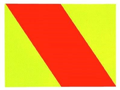 Hazard Panel Right Side Self Adhesive