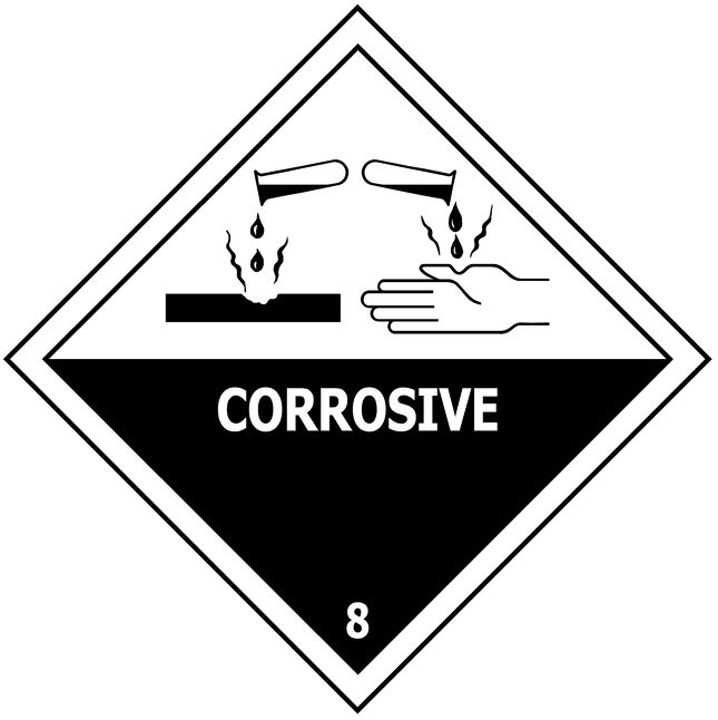 Corrosive Packet of 10